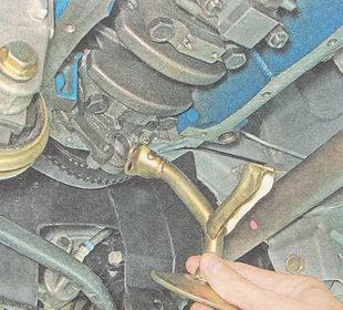 снятие маслоприемника ВАЗ 2111