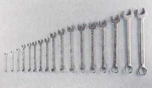 Комплект комбинированных ключей (рожковые и накидные)