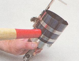 оправка для установки поршня в цилиндр