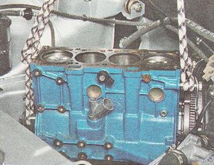 блок цилиндров ВАЗ 2110