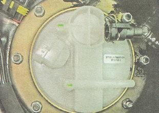 установка топливного модуля бензонасоса ВАЗ 2112