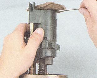 очистка сетчатого фильтра бензонасоса ВАЗ 2110