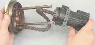 замена бензонасоса ВАЗ 2111