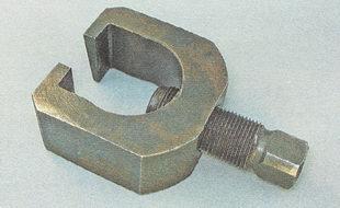 съемник для выпрессовки пальцев шаровых опор и наконечников рулевых тяг