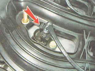 фиксатор разъема жгута проводов катушки зажигания