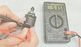 проверка регулятора холостого хода ВАЗ 2112