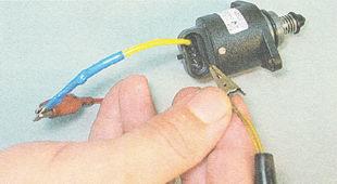 проверка регулятора холостого хода ВАЗ 2111