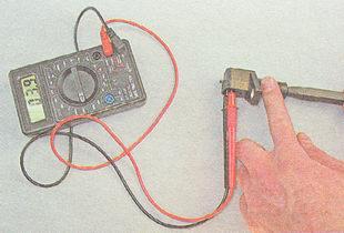 проверка датчика положения коленвала (ДПКВ) ВАЗ 2112