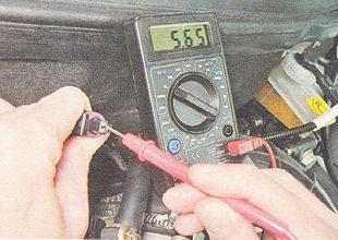 проверка датчика положения дроссельной заслонки ВАЗ 2110