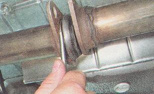 уплотнительное кольцо приемной трубы глушителя ВАЗ 2112