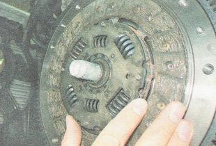 ведомый диск сцепления ВАЗ 2110