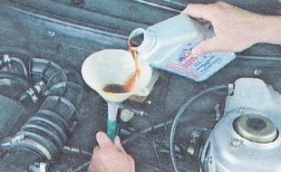 замена масла в коробке передач ВАЗ 2112