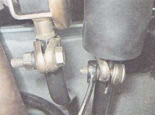 регулировка привода переключения передач ВАЗ 2112
