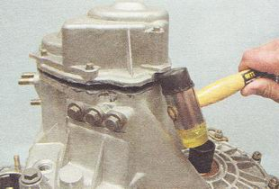 крышка картера коробки передач