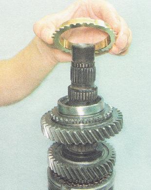блокирующее кольцо синхронизатора второй передачи