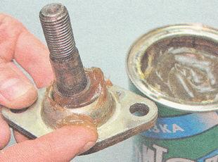 шаровой наконечник пальца ВАЗ 2110