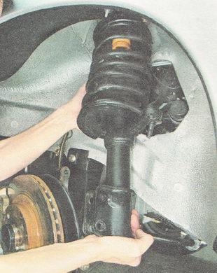 передняя стойка ВАЗ 2110