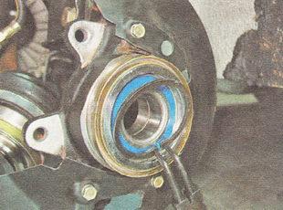 наружное стопорное кольцо подшипника ступицы