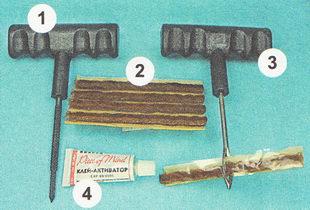 ремкоплект для ремонта бескамерной шины
