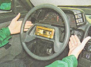 снятие рулевого колеса ВАЗ 2112