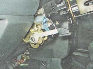регулировка наклона рулевой колонки ВАЗ 2112