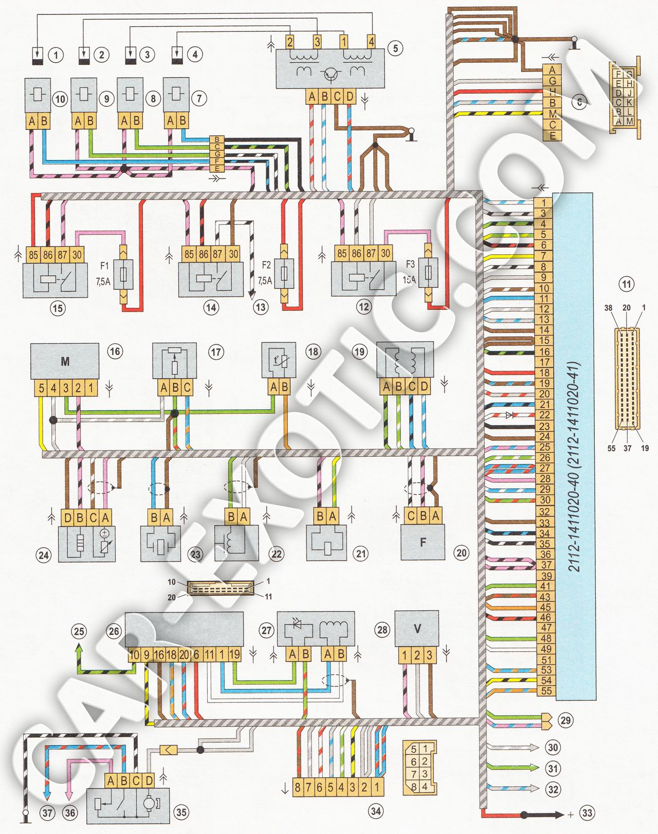 Фото №2 - неисправности электрооборудования ВАЗ 2110 инжектор