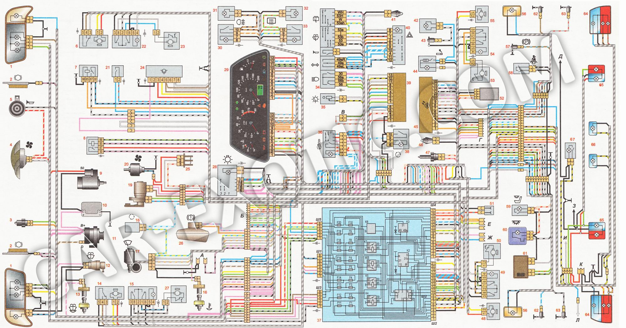 Фото №15 - неисправности электрооборудования ВАЗ 2110 инжектор