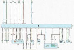 Электрическая схема 1b. Система (Multec-S-1) управления двигателем мод. Z16ХЕР автомобиль Опель Астра Н