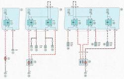 Электрическая схема 3а. Схема системы охлаждения двигателей мод. Z14ХЕР, Z16XER, Z18XER автомобиль Опель Астра Н