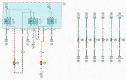Электрическая схема 3b. Схема системы охлаждения двигателей мод. Z14ХЕР, Z16XER, Z18XER автомобиль Опель Астра Н