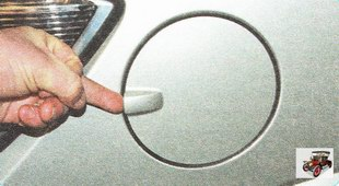 крышка лючка бензобака