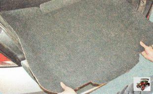коврик пола в багажнике Опель Астра Н