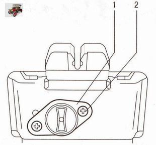 Крепление аварийного замка крышки багажника Опель Астра Н