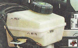 бачок главного тормозного цилиндра Опель Астра Н