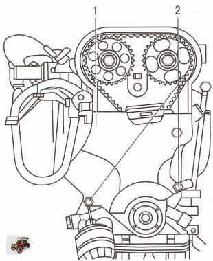 Снятие нижней крышки привода ГРМ двигателей Z 20 LER и Z 20 LEH на автомобиле Опель Астра Н