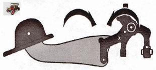 резьбовые соединения продольного рычага и пворотного кулака задней подвески