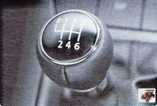 рычаг 6-ступенчатой коробки передач Шкода Октавия А5
