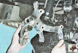 поворотный кулака задней подвески Шкода Октавия А5