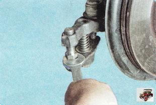 съемник шаровых шарниров