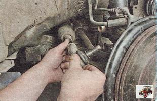 наконечник рулевой тяги Шкода Октавия А5