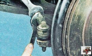 контргайка наконечника рулевой тяги