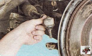 наружный наконечник рулевой тяги Шкода Октавия А5