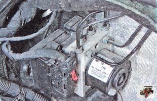 гидроэлектронный блок АБС