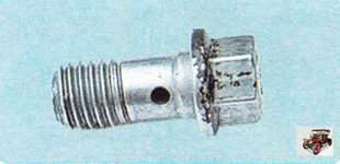 болт-штуцер крепления тормозного шланга
