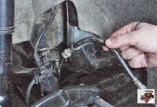 тормозной шланг тормозного механизма заднего колеса Шкода Октавия А5