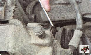 защитный колпачок болта крепления верхнего пальца тормозного суппорта