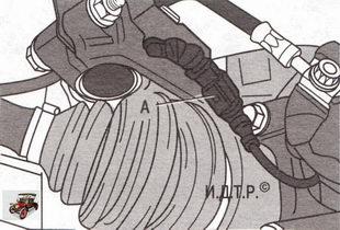 разъем провода индикатора предельного износа тормозных колодок