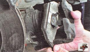 наружная тормозная колодка Шкода Октавия А5