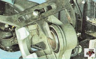 поршень рабочего тормозного цилиндра