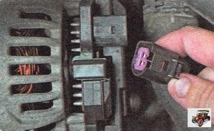разъем жгута проводов генератора